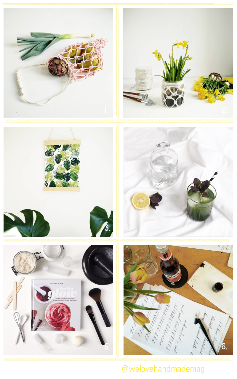 Überlick über die Geschehnisse im April | we love handmade