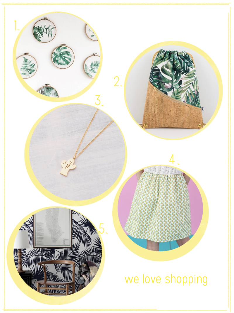 we love Shopping: Tropical Vibes | we love handmade