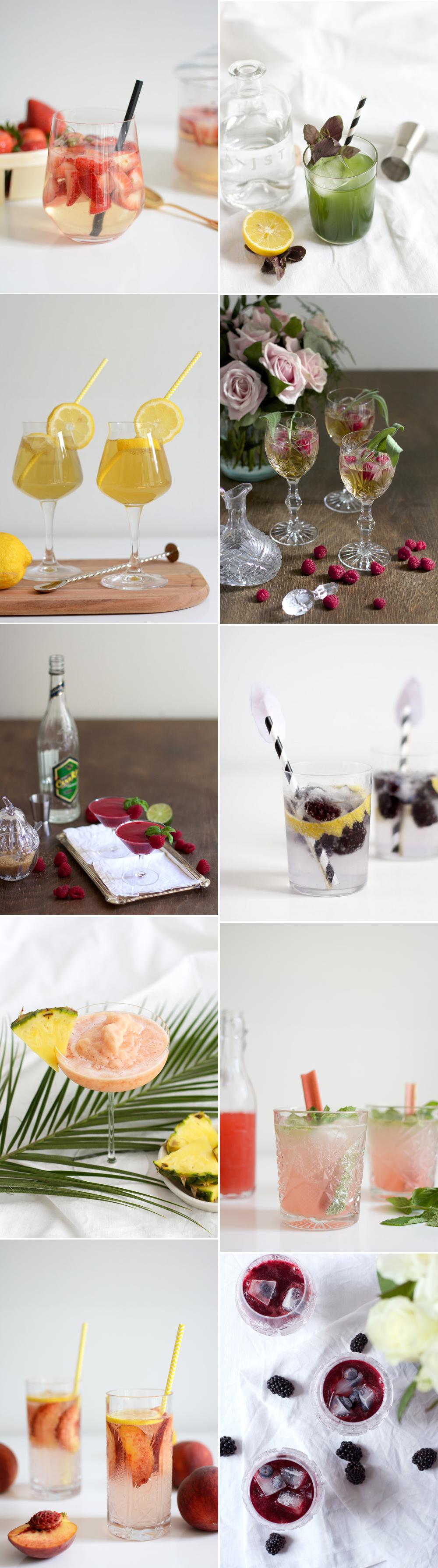 Rezepte: Heute stellen wir euch unsere liebsten Sommercocktails vor!   we love handmade