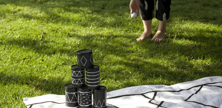 Upcycling-DIY: Spiel aus Dosen