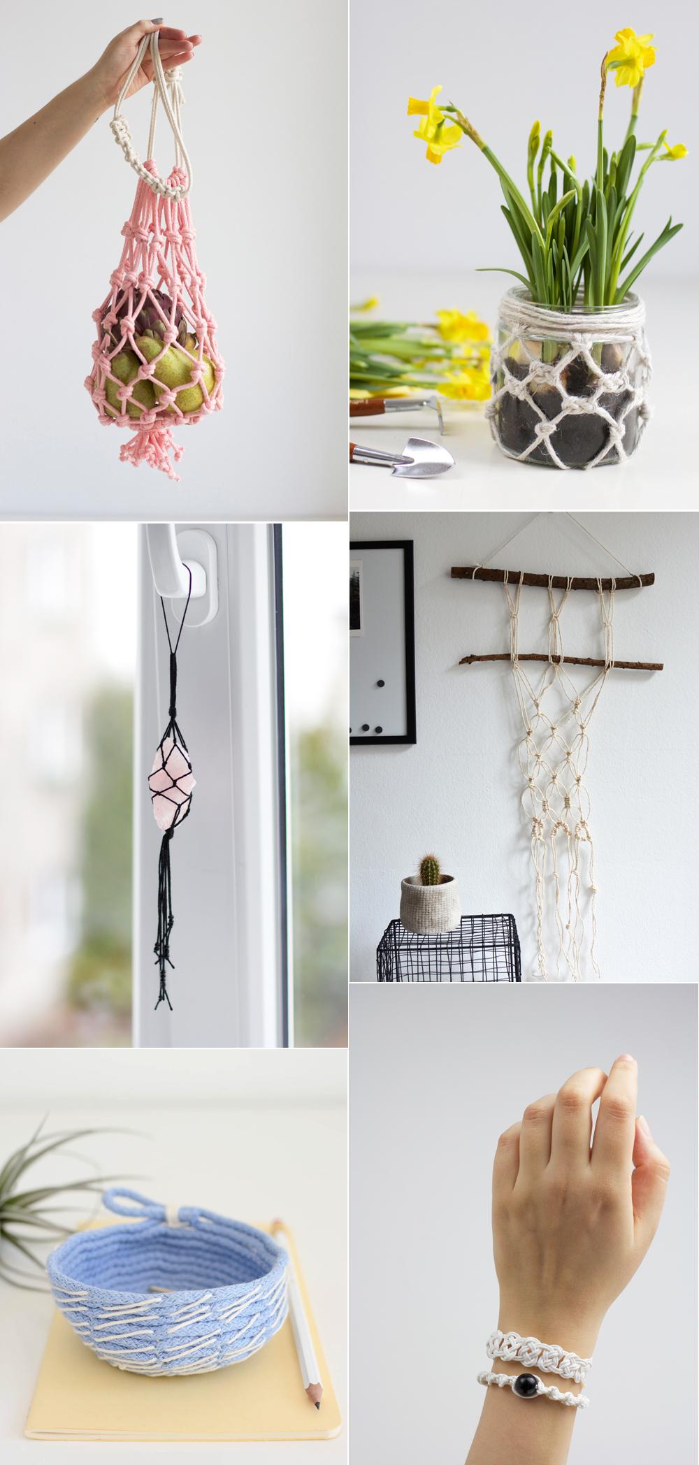 Unsere Makramee DIYs | we love handmade