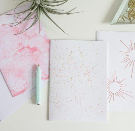DIY: Notizhefte gestalten – Coverpapiere