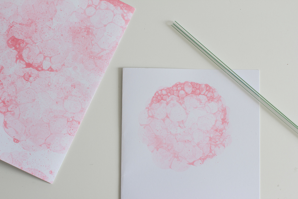 Papier mit Bubbles | we love handmade
