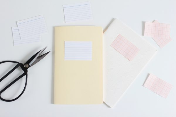 Etiketten für Notizbuch | we love handmade