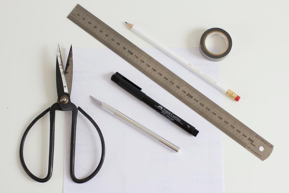 Material für Etiketten | we love handmade
