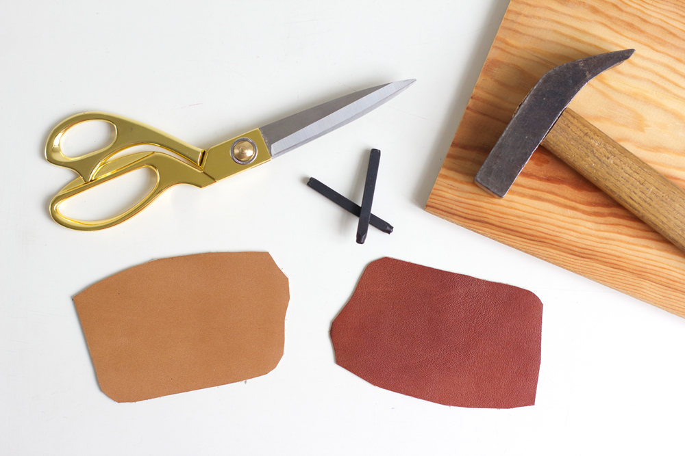 Material für Kofferanhänger |we love handmade