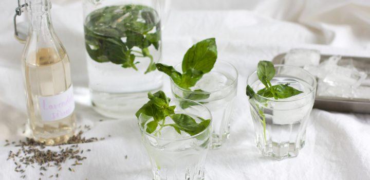 Drinks: Lavendel-Basilikum-Limonade