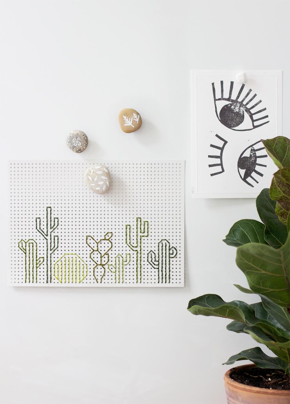 Bemalte Magnet-Steine |we love handmade