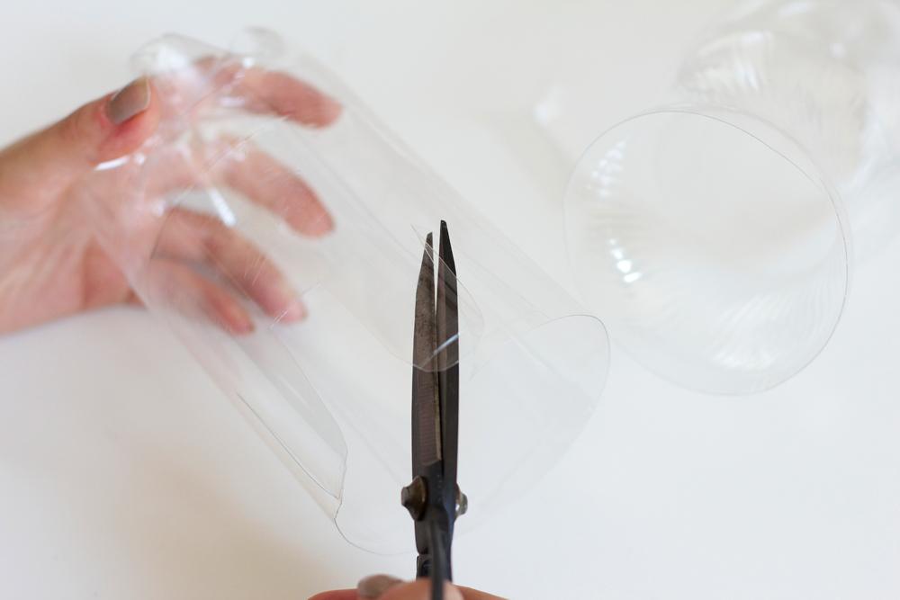 DIY: Stiftehalter aus Plastikflasche |we love handmade