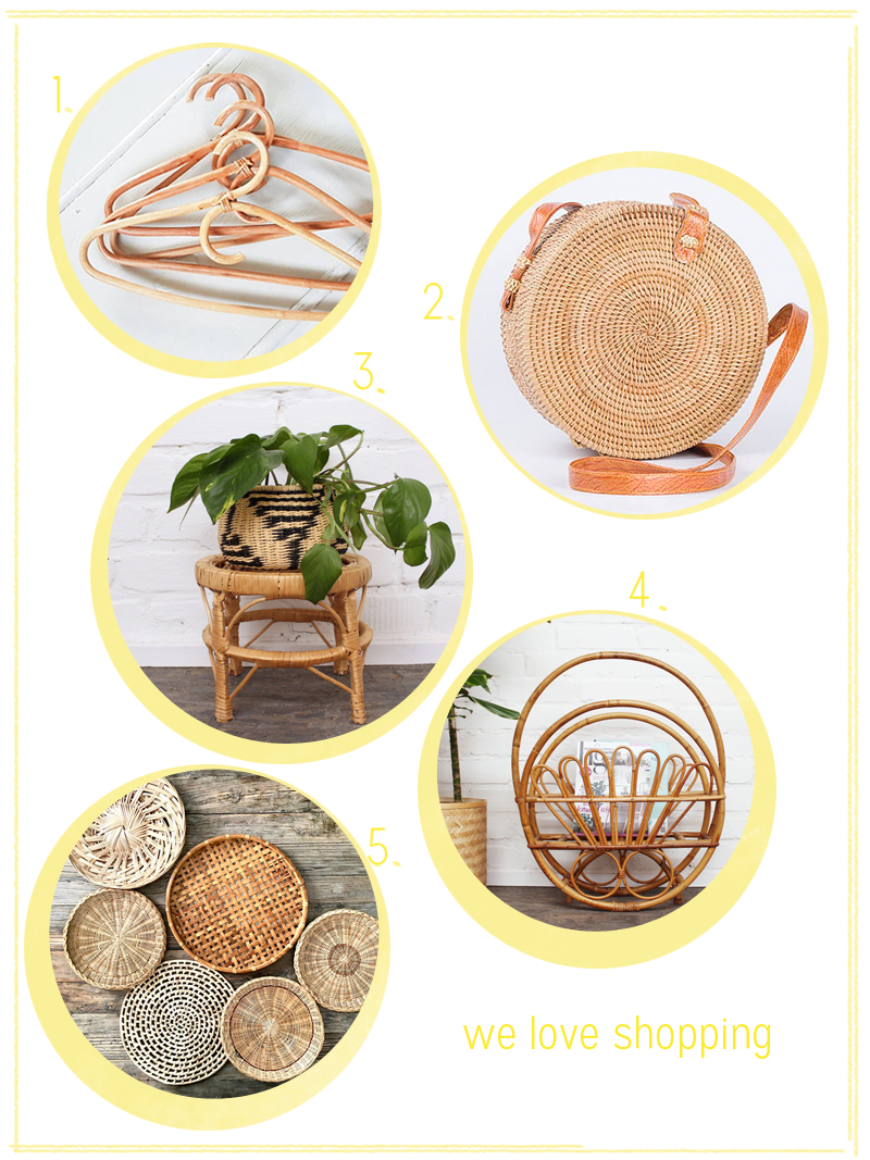 we love shopping: Rattan | we love handmade