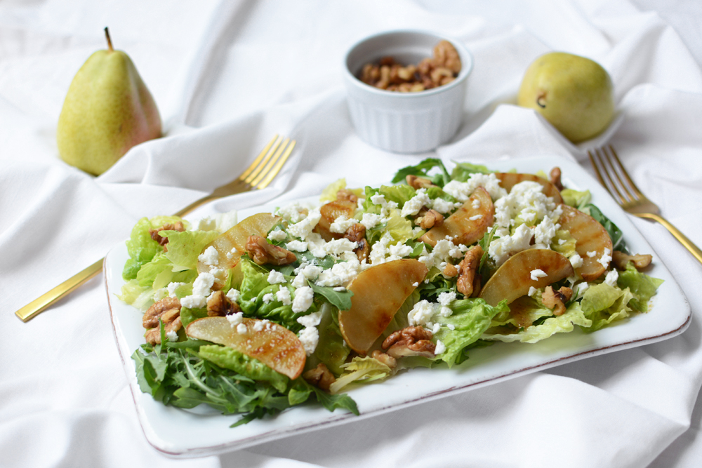 Rezept: Birnen-Salat | we love handmade