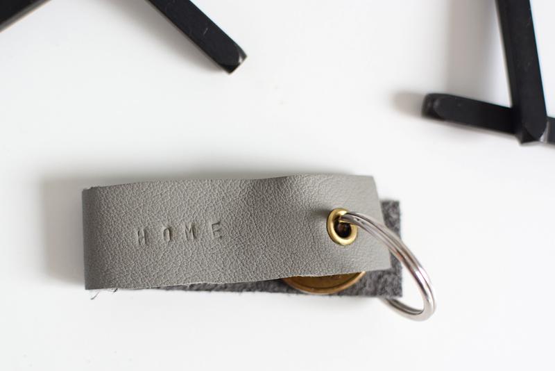 Schlüsselanhänger aus Leder DIY | we love handmade