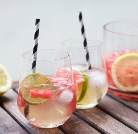 Drinks: Wassermelonen-Bowle