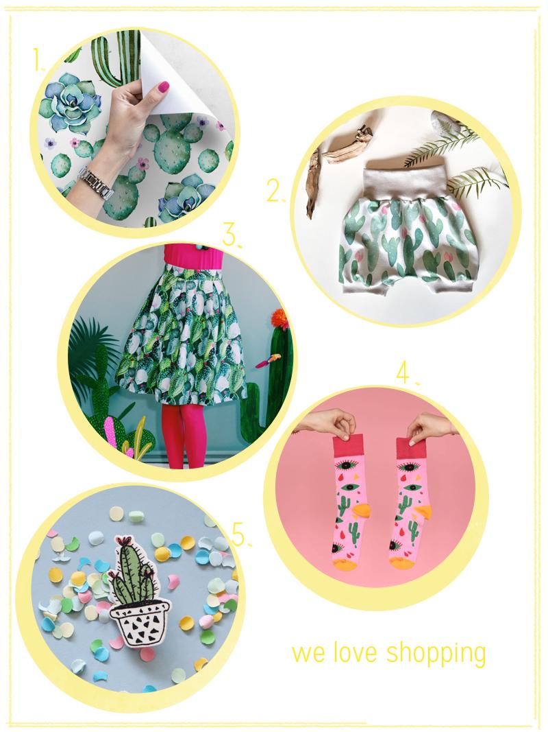 we love Shopping: Kaktus | we love handmade