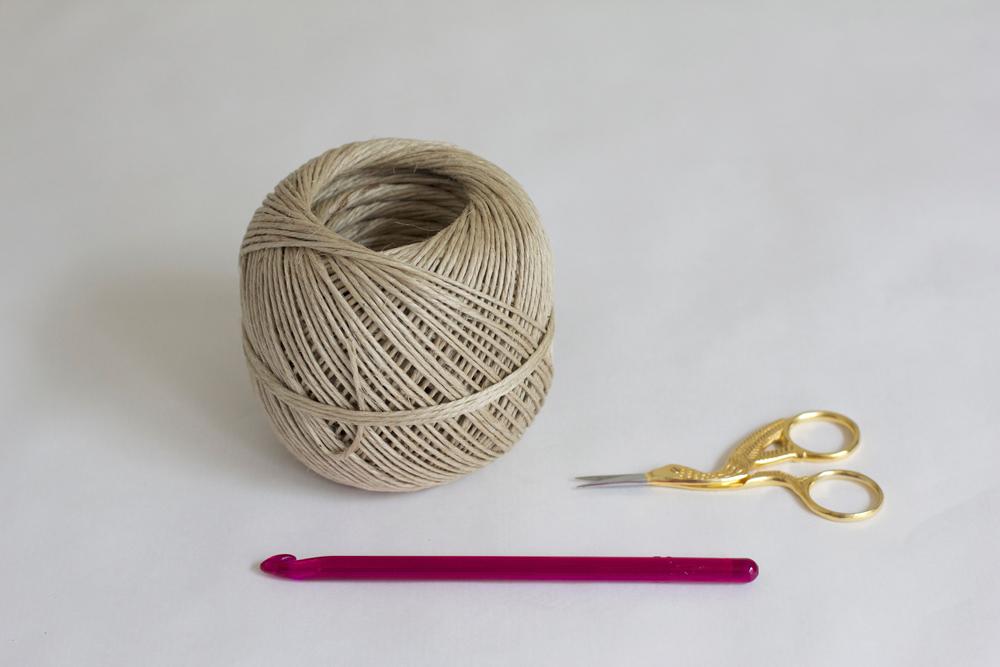 Häkelkörbchen Material |we love handmade
