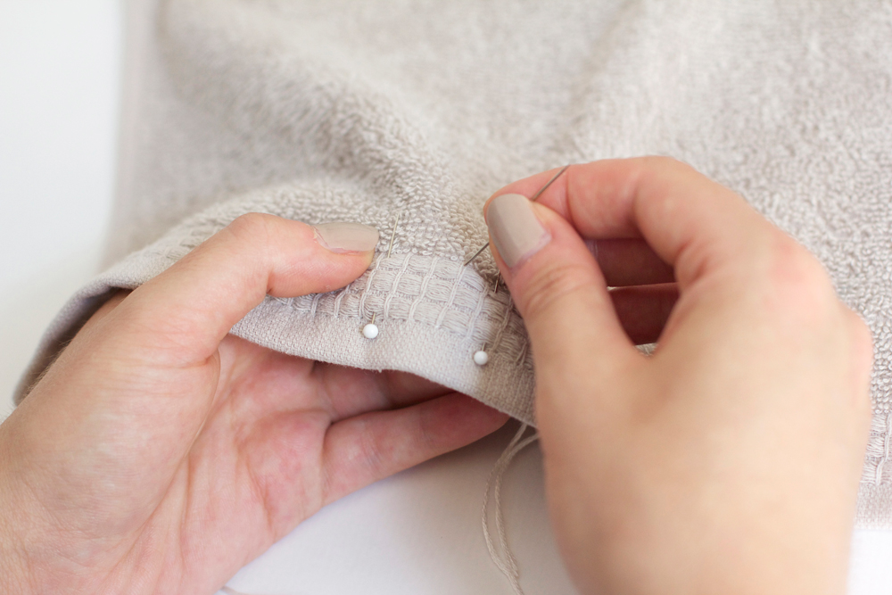 Handtuch besticken | we love handmade