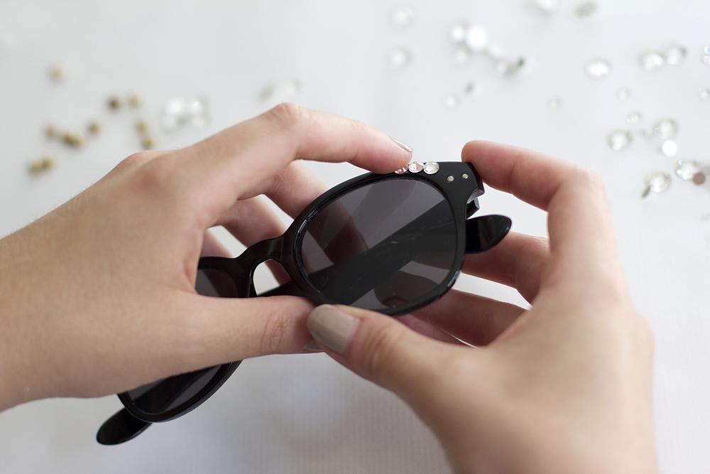 Sonnenbrille bekleben | we love handmade
