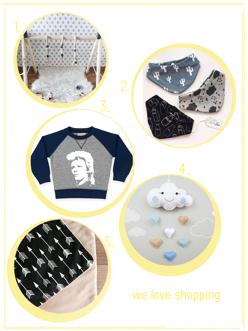 we love shopping: Baby-Geschenke | we love handmade