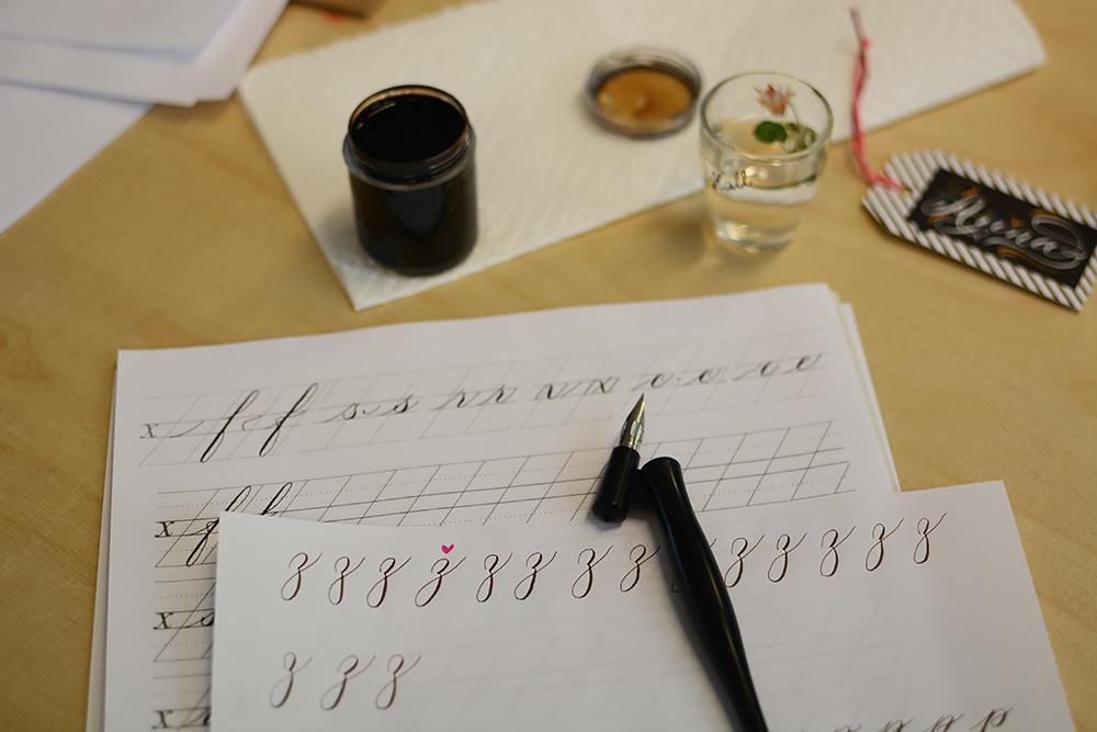 Kalligraphie-Workshop September   we love handmade