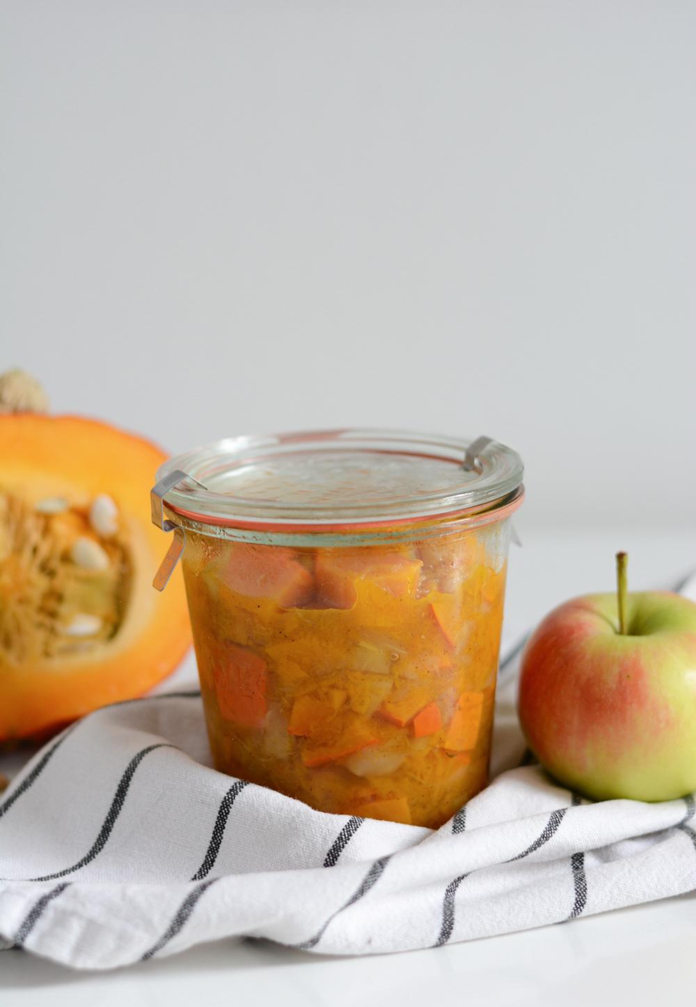Kürbis-Apfel-Chutney |we love handmade