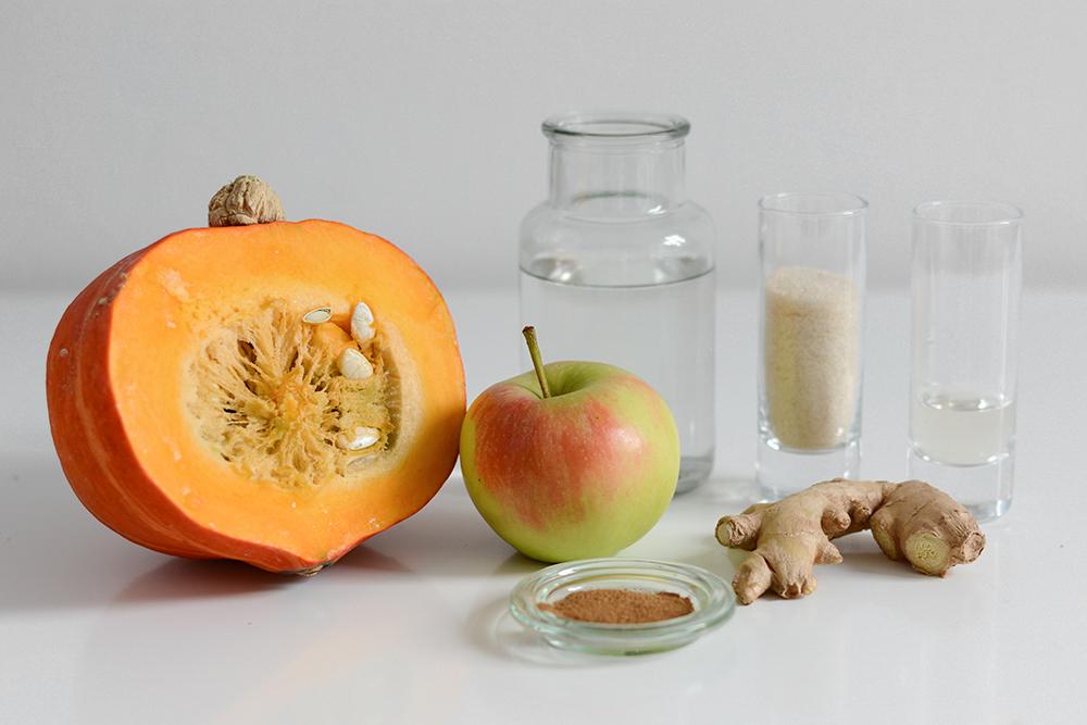Kürbis-Apfel-Chutney: Zutaten |we love handmade