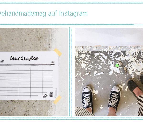 Monatsrückblick auf Instagram | we love handmade