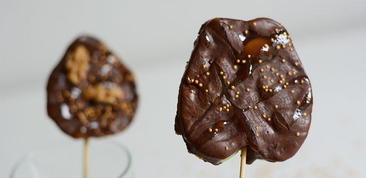 Food: Apfel-Lollipops