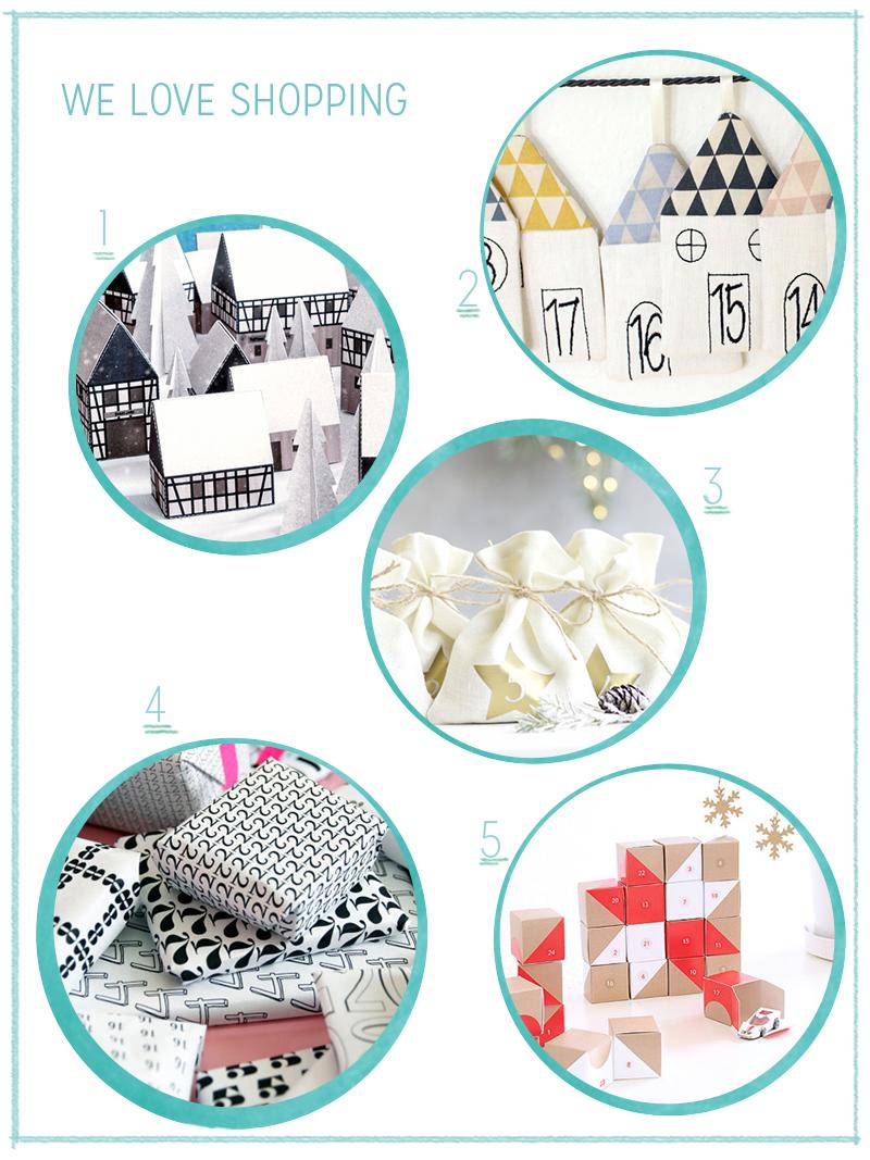 we love Shopping: Adventkalender 2017 | we love handmade