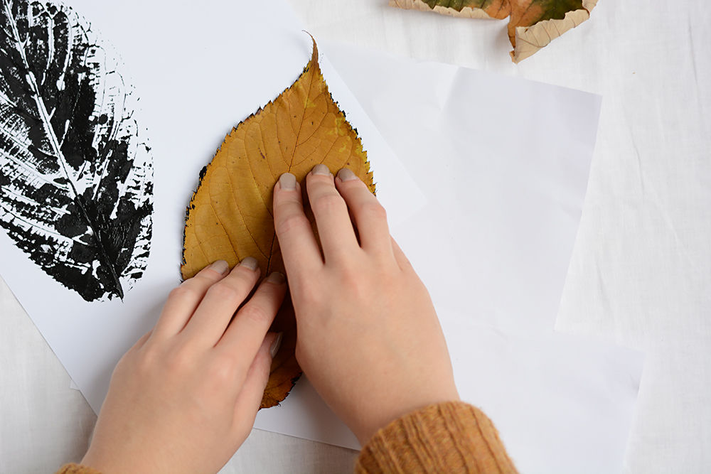 Blätterdruck: DIY-Tutorial   we love handmade