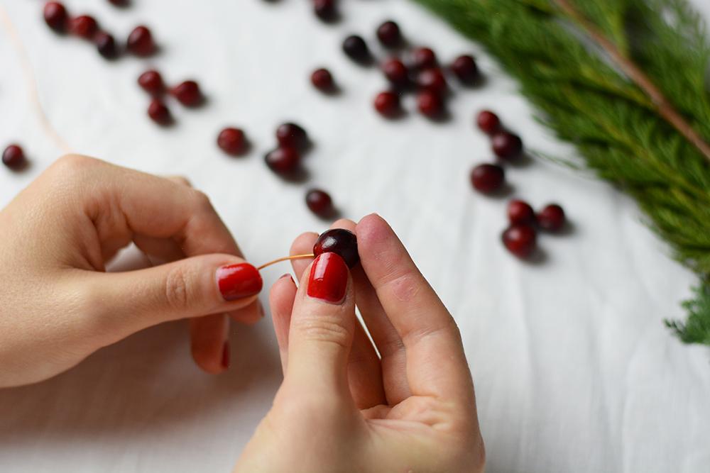 Cranberry-Kranz DIY | we love handmade