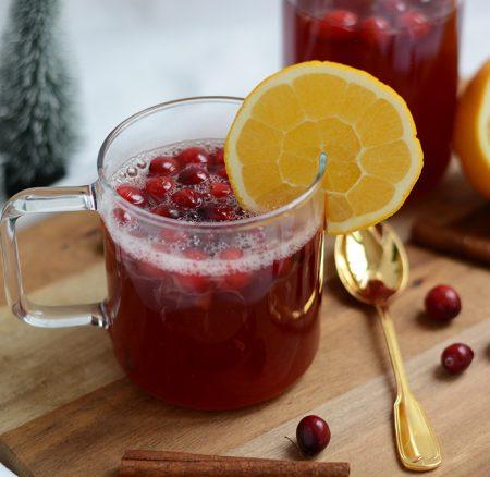 Drinks: Cranberry-Punsch