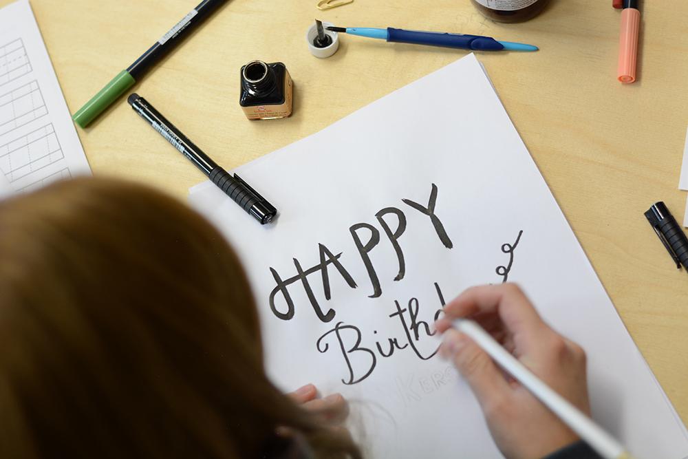 Hand Lettering | we love handmade