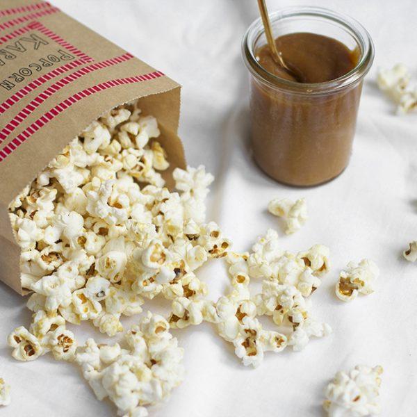 Karamell-Popcorn: Rezept | we love handmade