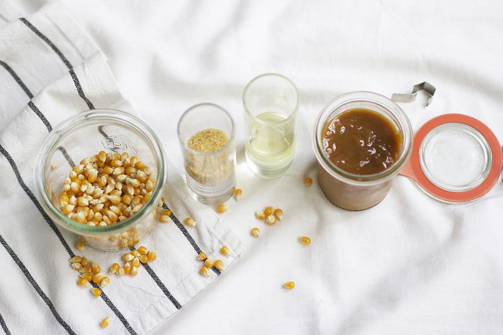 Karamell-Popcorn Zutaten | we love handmade