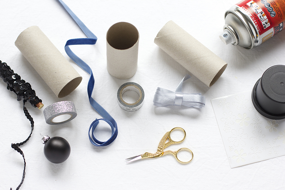 Klopapierrollen-Geschenkboxen: Material | we love handmade