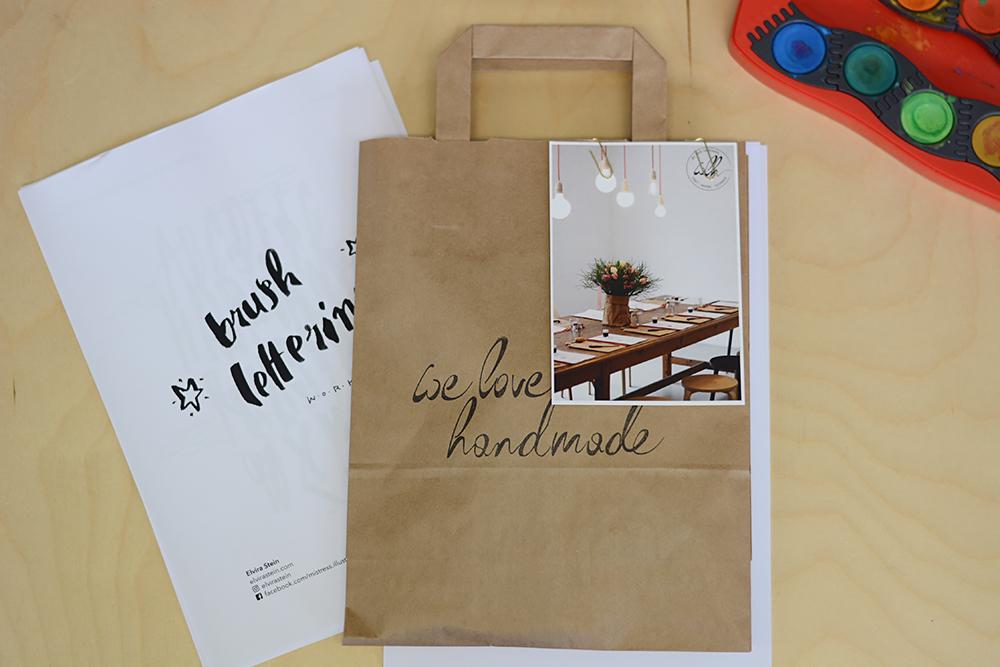 Lettering-Workshop: Craft-Bag |we love handmade