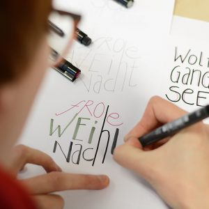 Hand Lettering Workshop | we love handmade