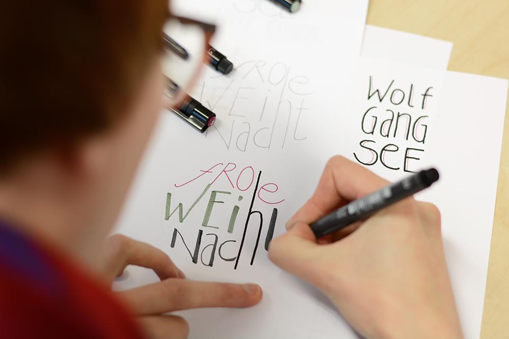 Hand Lettering Workshop |we love handmade