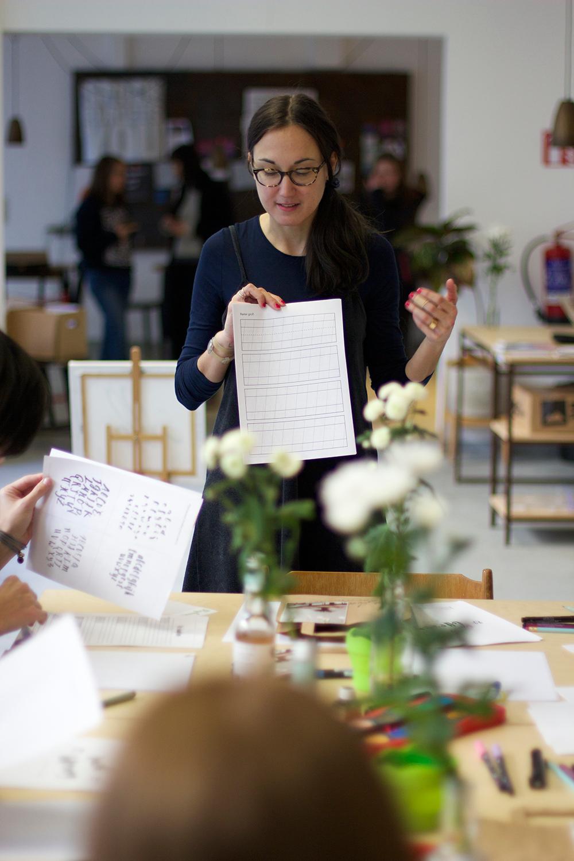 Lettering Workshop mit Elvira Stein |we love handmade