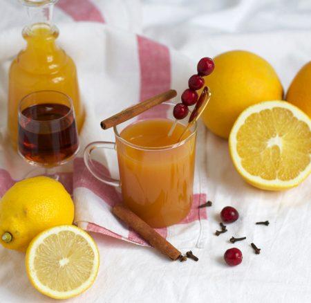Drinks: Orangen-Zimt-Punsch