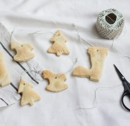 DIY for Kids: Salzteiganhänger als Christbaumschmuck