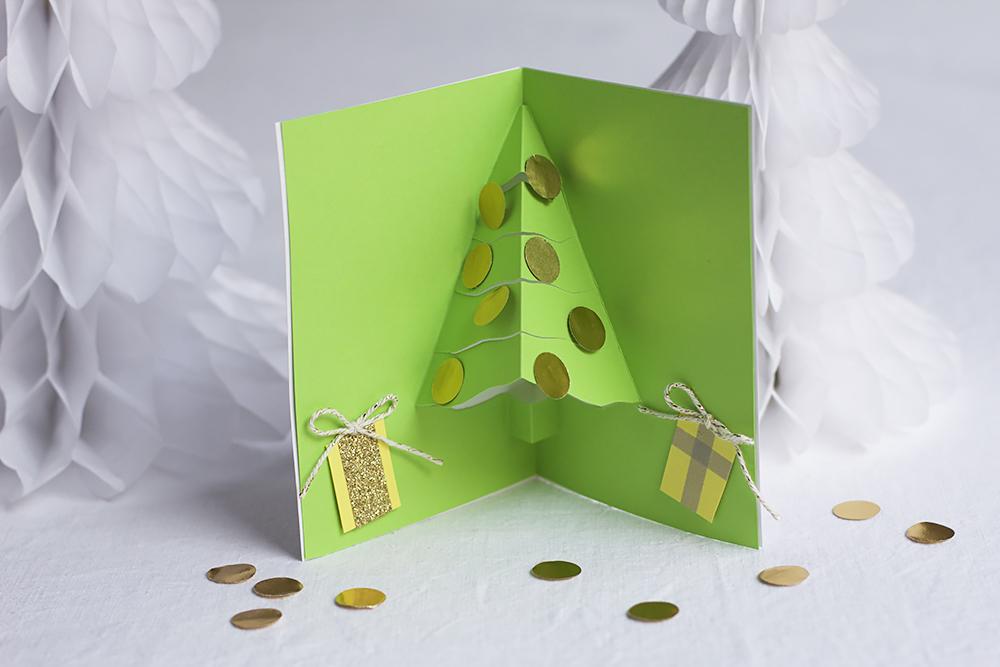 Diy Pop Up Weihnachtskarte We Love Handmade