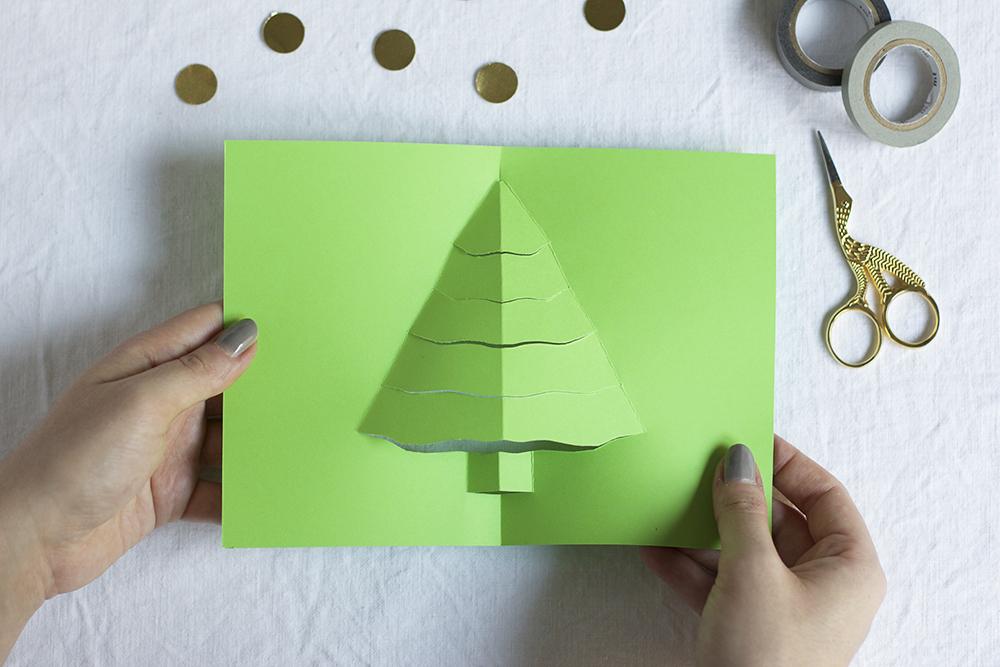 Weihnachts-Klappkarte | we love handmade
