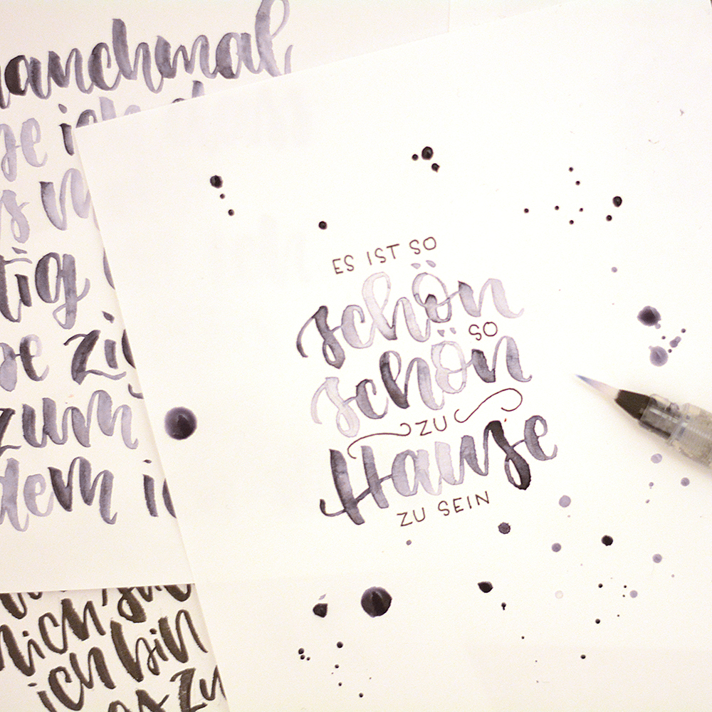 Kristin Klasinski: Brush Lettering Workshop | we love handmade