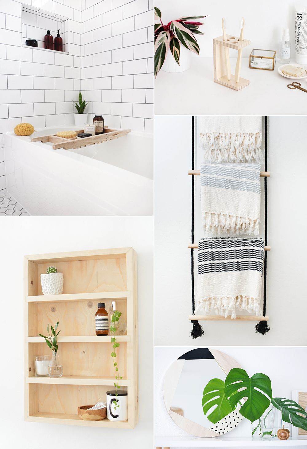 Badezimmer DIY-Ideen | we love handmade