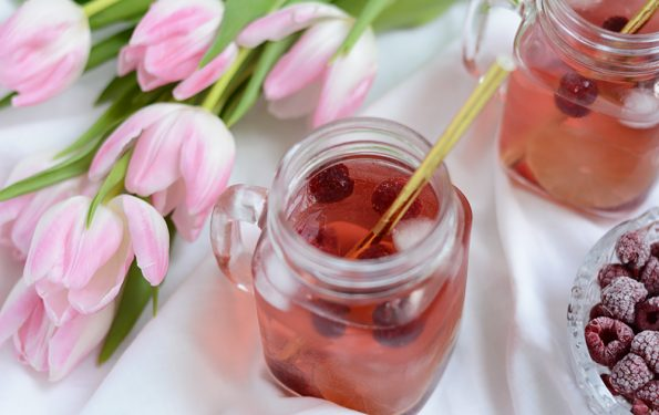 Raspberry Lemonade: Drink-Rezept | we love handmade