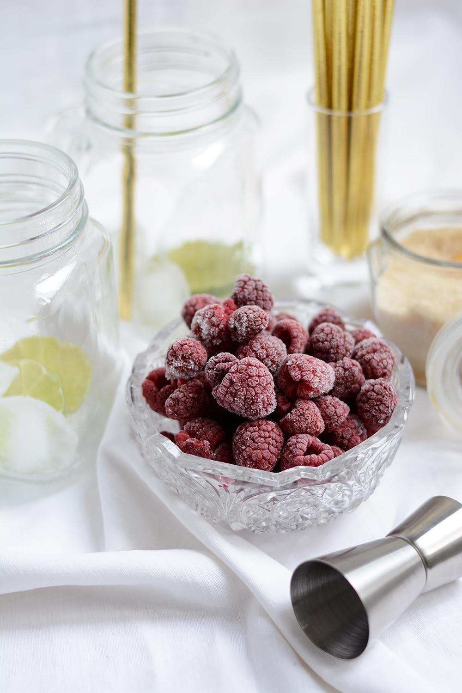 Raspberry Lemonade mit Himbeeren | we love handmade