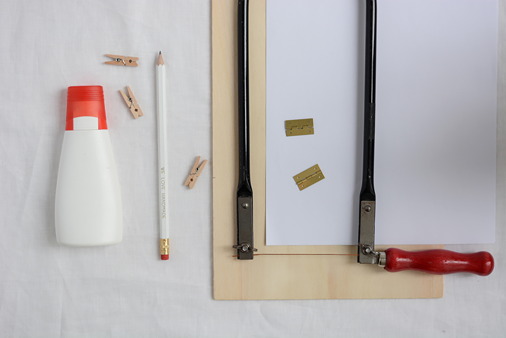Tischkalender aus Holz: Material | we love handmade