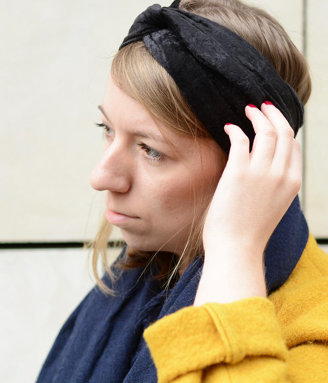 Turban-Stirnband: DIY fertig | we love handmade