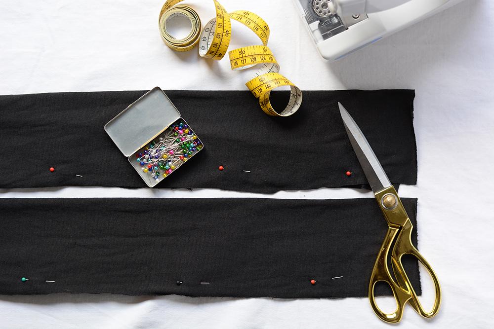 Turban-Stirnband aus Samt | we love handmade